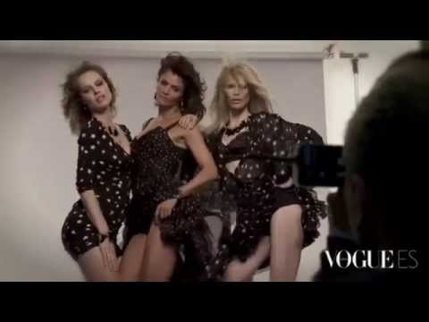 Клаудия Шиффер, Ева Герцигова, Хелена Кристенсен. Vogue Spain Сентябрь 2011