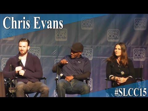 Chris Evans | Anthony Mackie | Haylee Atwell - Full Panel/Q&A - Salt Lake Comic Con 2015