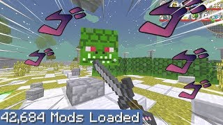 Minecraft but I downloaded every single mod part 2
