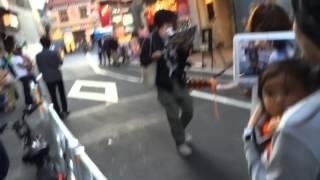 2014.510 におこなわれた後藤まりこさんの路上ライブです。 渋谷編、そ...