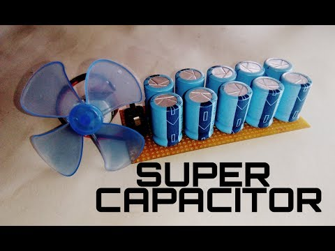 Super capacitor | how to make super capacitor for free energy generator using capacitor. thumbnail