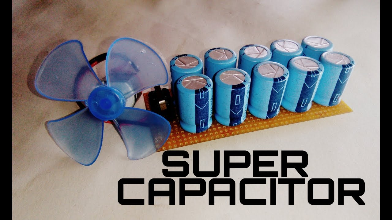 Super Capacitor How To Make For Free Energy Generator On Self Powered Schematic Diagram Like Subscribe If