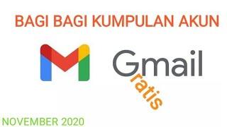 Berbagi Akun Gmail Aktif Gratis November 2020 Youtube
