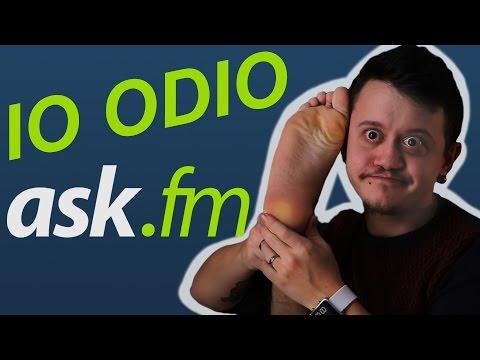 PARODIA ASK.FM - IO ODIO I SOCIAL NETWORK - iPantellas