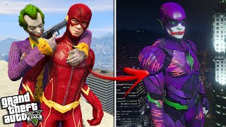The JOKER becomes FLASH (GTA 5 Mods)