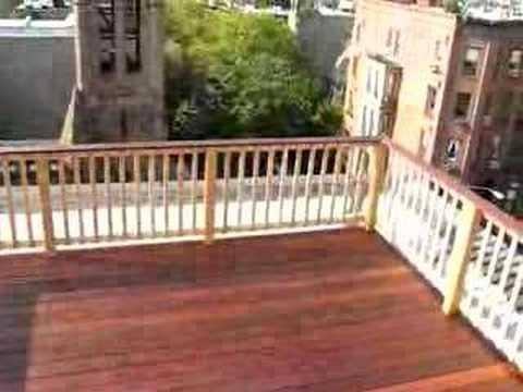 Ipe Roof Deck Park Slope Brooklyn