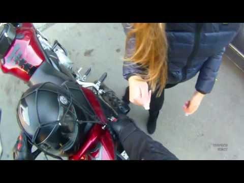 мотоциклист познакомиться с девушкой