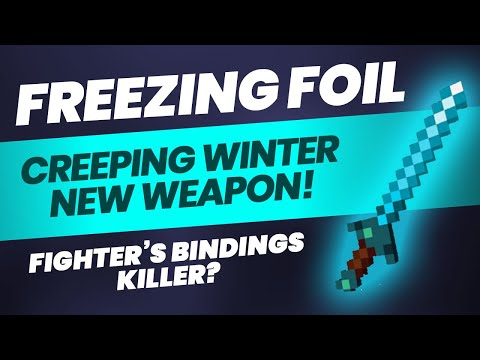 How to get FREEZING FOIL Unique Sword in Minecraft Dungeons?