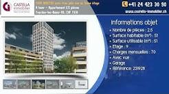 À louer - Appartement 2.5 pièces Yverdon-les-Bains-VD, CHF 1'610