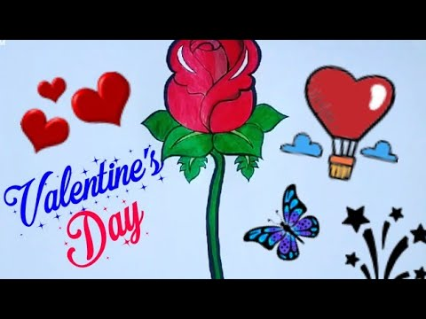 Valentines Day Drawing For Beginners