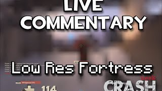 TF2 Live Commentary - Low Resolution Fortress