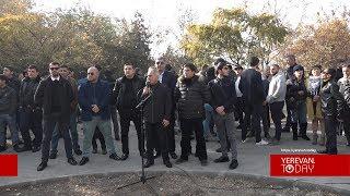 Ստորագրահավաք Երևանում՝ ի աջակցություն Ռոբերտ Քոչարյանի
