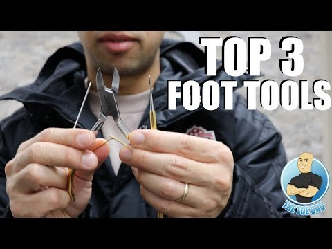 MY TOP 3 FOOT CARE TOOLS ***NEW AND IMPROVED***