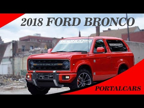 FINALLY !! 2018 Ford Bronco Price and Release date