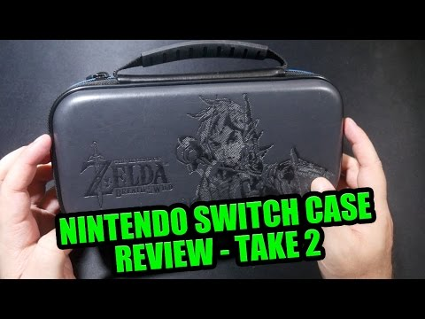 Nintendo Switch Case, Take 2… A Better look ;D (World's First Nintendo Switch Accessory Review!)