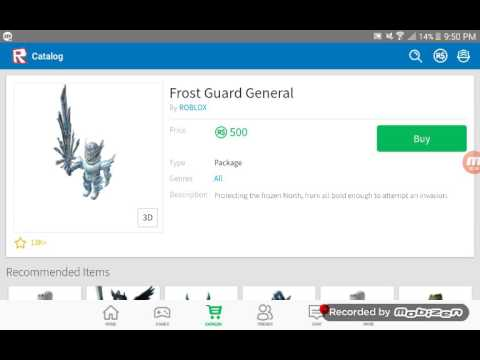 YES, FINALLY FROST GENERAL GUARDIAN/ROBLOX