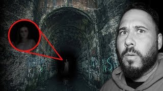 (She's Here) Haunted Screaming Tunnel At 3AM | OmarGoshTV