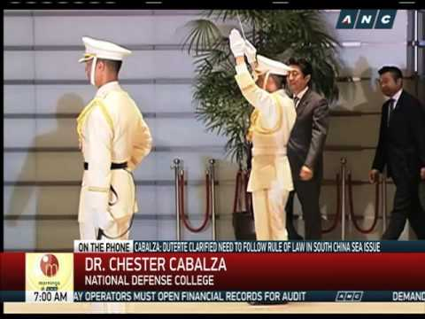 Duterte gains momentum after Japan, China visits: analyst (1)