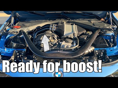 DIY Charge Pipes install on a BMW M2, M3, M4: ready for more boost! (F80, F82, F87)