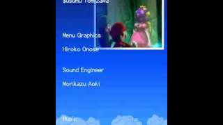 Mario and Luigi: Partners in Time - Credits