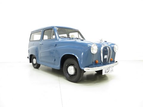 A Fabulous Austin A35 Delivery Van With Just One Owner From New! - SOLD!