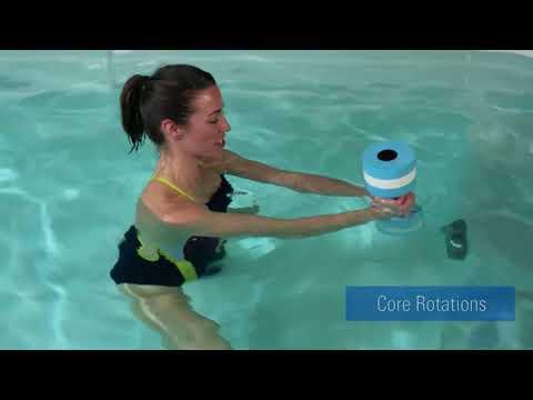 Basen z przeciwprądem wody Swim SPA - program zaawansowany Aquatic Cross Training