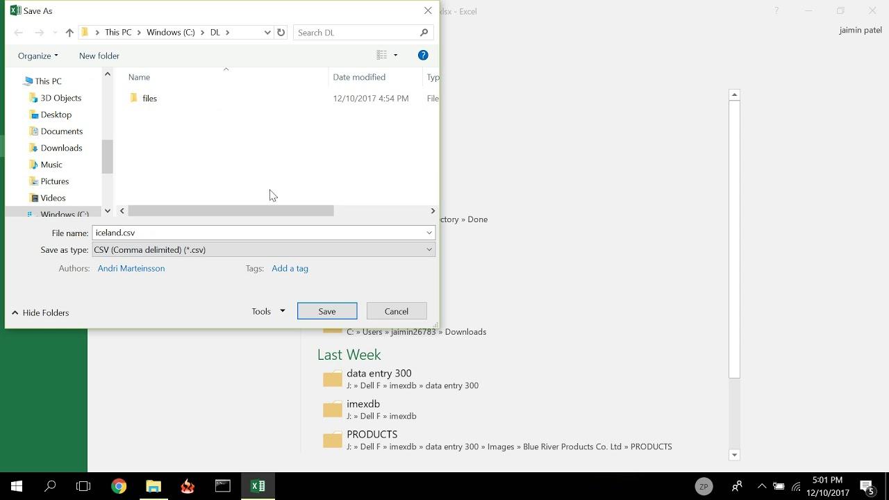 CSV Encoding to UTF-8 format