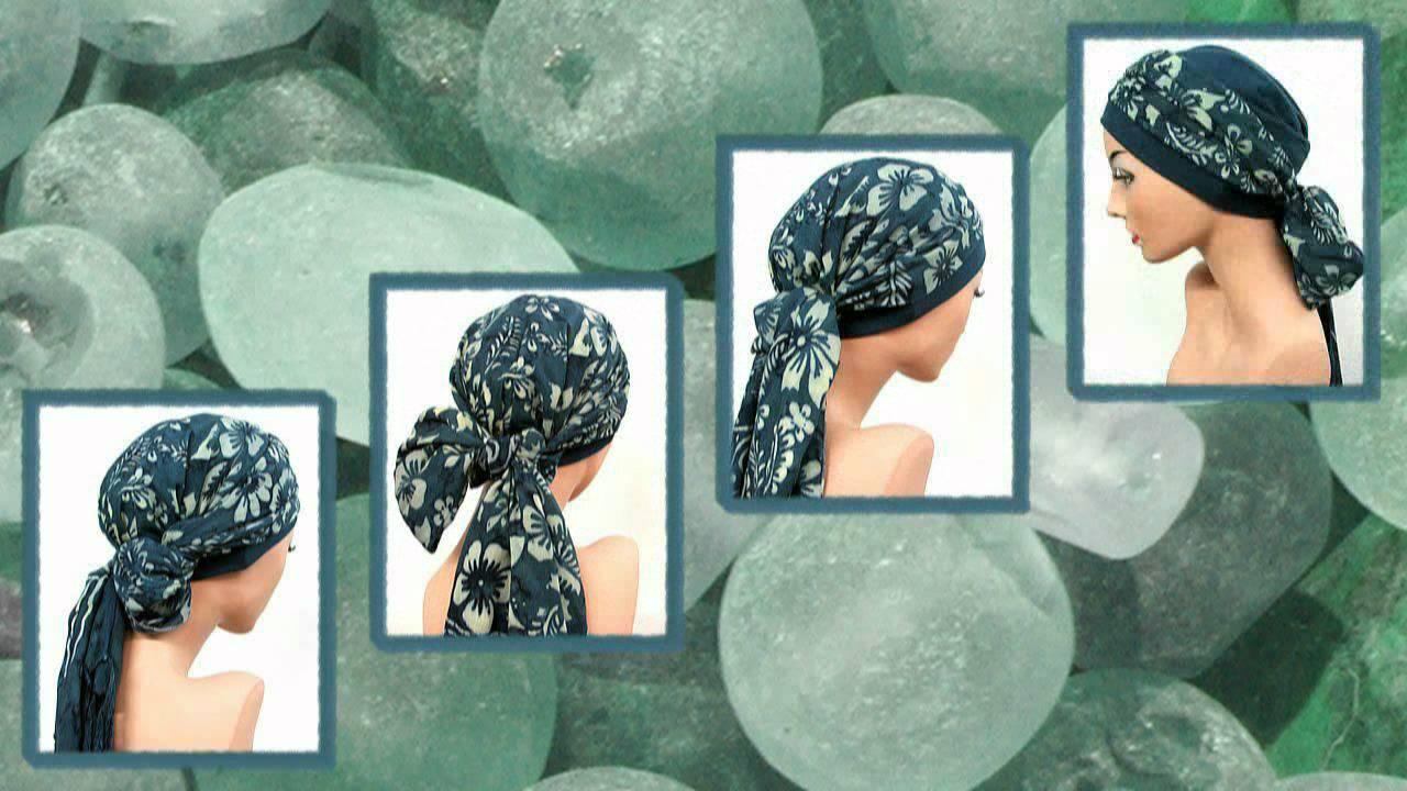 Turban aus der Hut-Design-Werkstatt: Kopfbedeckungen Chemotherapie ...