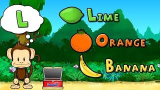 Kids Learn Shapes Colors Numbers with Monkey Preschool Lunchbox - Fun Educational Game