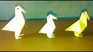 How to make a Paper Bird Easy|Paper bird craft|Paper Craft bird Tutorial|Paper Bird Craft Ideas