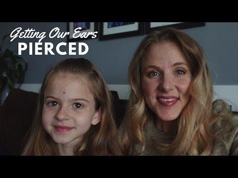 Mother/Daughter Ear Piercings