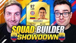 SQUAD BUILDER SHOWDOWN!! JAMES RODRIGUEZ!