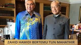 Zahid Hamidi bertemu Tun Mahathir