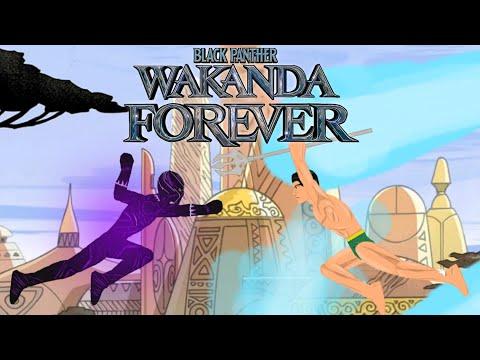 Чёрная пантера 2 – русский трейлер 2022. Black panther 2. Trailer 2020. Анимация