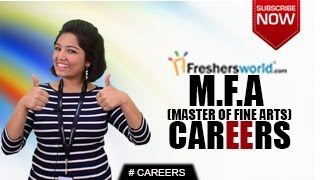 CAREERS IN M.F.A – Master of Fine Arts, B.F.A,Ph.D,Teachers,Job Opportunities,Salary Package