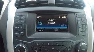 Ford Sync Bluetooth Fix