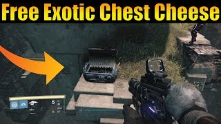 Destiny - Exotic VOG Chest Cheese How To Get Free Exotic Chest Loot Fast!