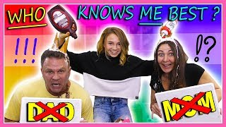EXTREME WHO KNOWS ME BEST | Kayla Davis