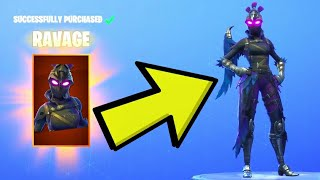 "Fortnite: How To Get ""RAVAGE"" Skin For FREE! - Fortnite Iron Beak Pickaxe Review 