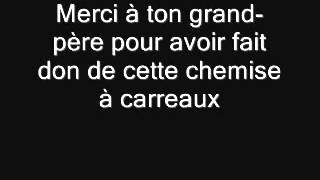macklemore thrift shop traduction francais