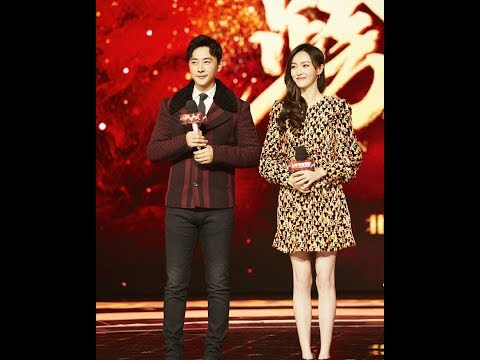 171117 Tang Yan Luo Jin - 2018 Beijing TV marketing conference (fancam)