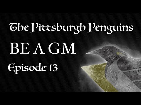 NHL 16 Pittsburgh Penguins BE A GM Ep. 13: Difficult Opponents