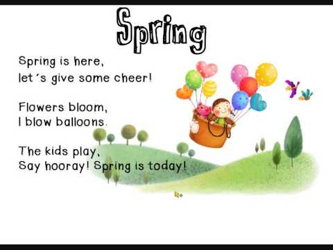 Short Spring Poem For Primary School