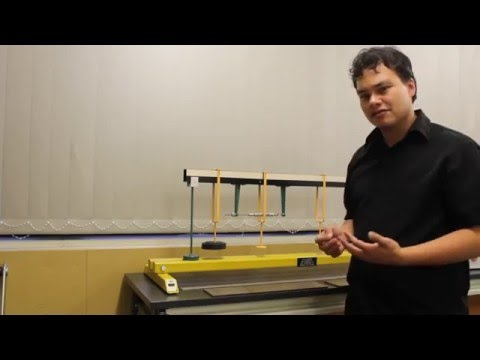 Instructional Video: Bending Moment in a Beam Lab