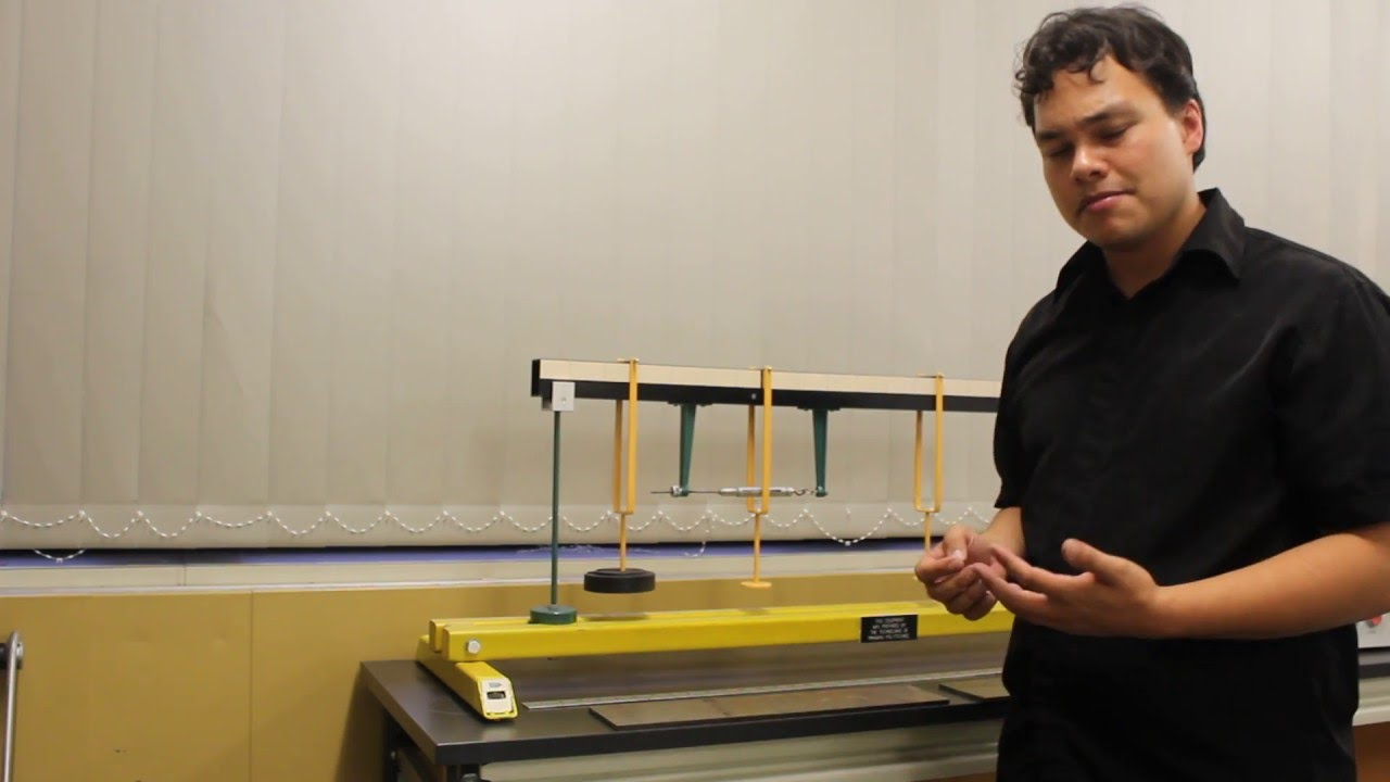 Instructional Video Bending Moment In A Beam Lab Youtube Shear Force And Diagrams Generator