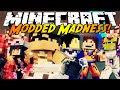 Minecraft Modded Madness : ATTACK ON TITAN VS DRAGON BALL Z