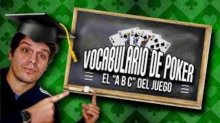 Vocabulario del Poker