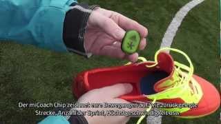 Test: Adidas F50 Adizero miCoach Bundle | Tutorial für iPhone/iPod/iPad App