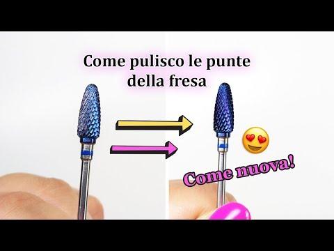 Come Pulisco Le Punte Della Fresa RAPIDISSIMO 😍 | Desmynails