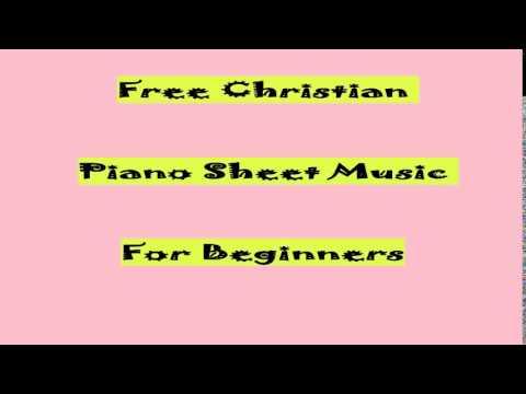 Free Christian Piano Sheet Music